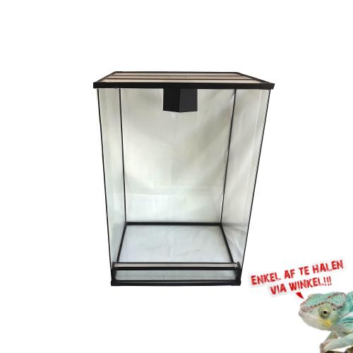 Glas Terrarium 80x50x50cm