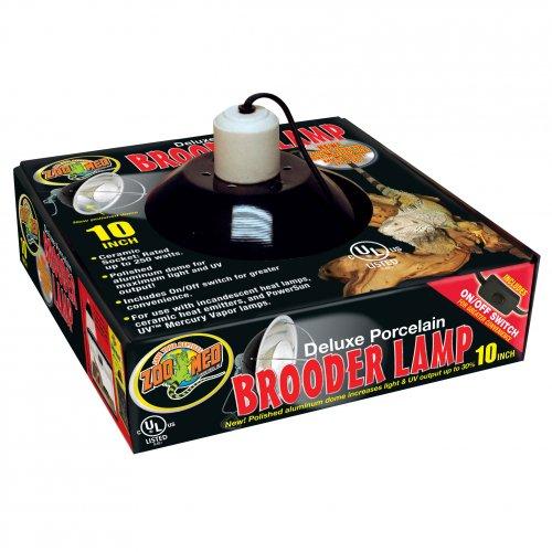Porcelain Brooder Clamp Lamp 25cm