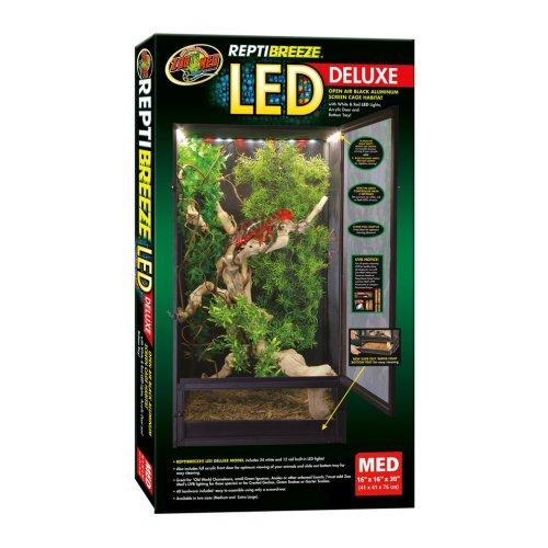 ReptiBreeze Luxe LED Terrarium Medium 41x41x76cm