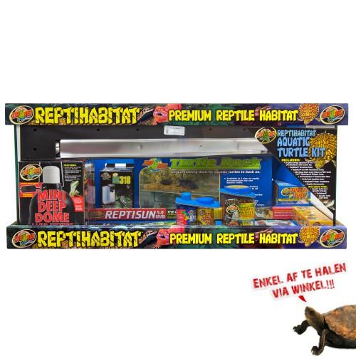 Reptihabitat kit Aquatic Turtle 76x30x30cm