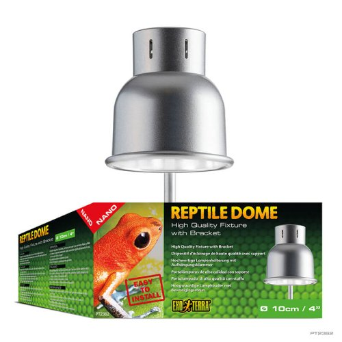 Reptile Dome NANO Fixture with Bracket
