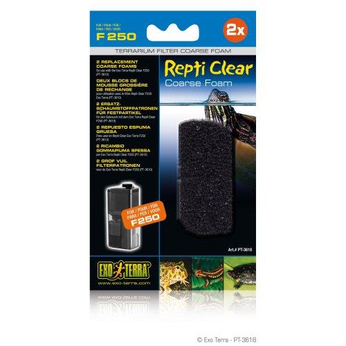 2 grof vuil filterpatronen voor Repti Clear F250