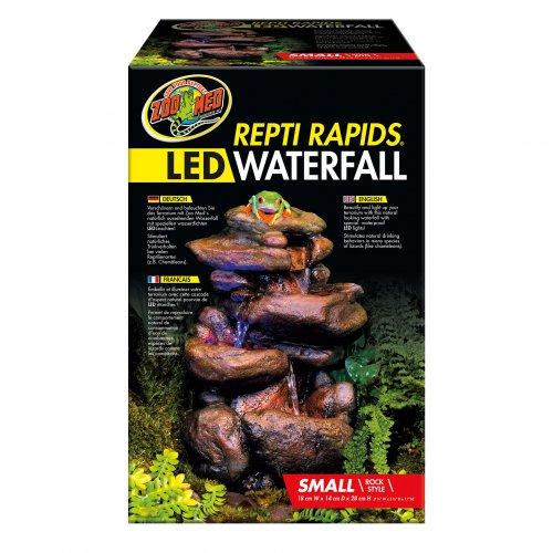 Repti Rapids LED Waterfall – Small Rock