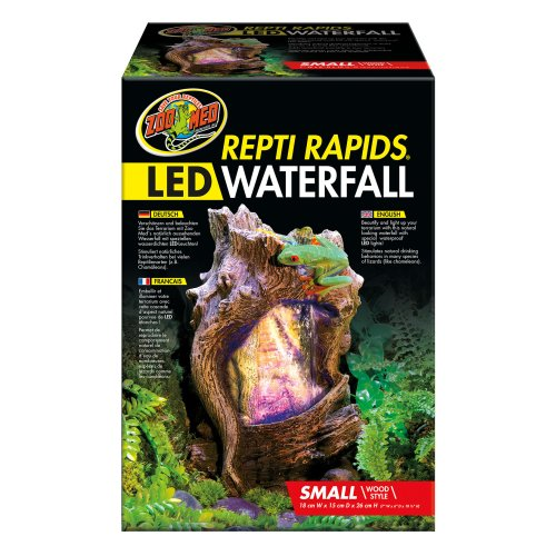 Repti Rapids Led Waterfall Small Wood Rr 22e