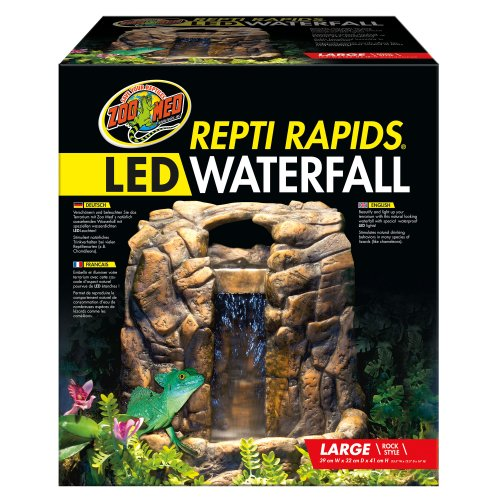 Repti Rapids LED Waterfall – Large Rock