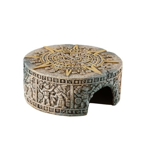 Aztec Calendar Stone Hide Out - Small