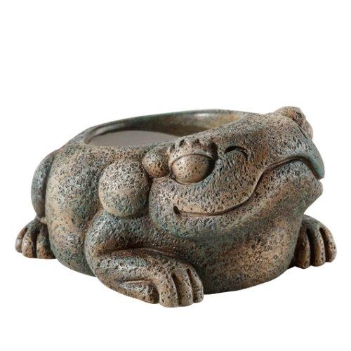 Aztec Frog Water Dish