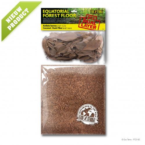 Equatorial Forest Floor 8.8L - Ardisia leaves & Coconut Husk Fiber
