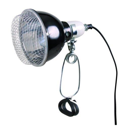 Reflector Klemlamp met Draadbeschermkap ø14 × 17 cm