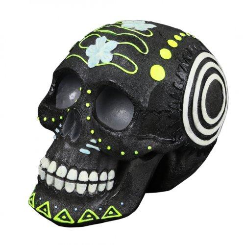 Dia de Los Muertos -  Meerkleurige Schedel 4