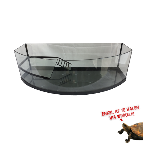 Turtle Tank Curved 80cm